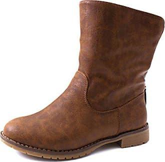 Braune Stiefel & Boots für Damen | Reinschlüpfen