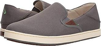 Olukai Kahu (Charcoal/Off-White) Mens Shoes