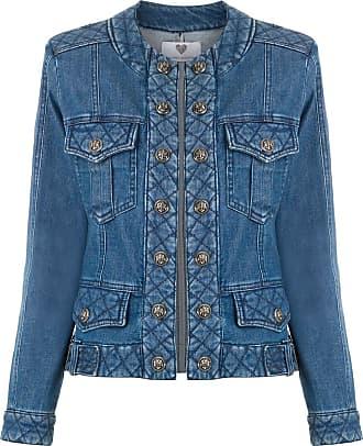 Andrea Bogosian Jaqueta jeans Rosangela - Azul