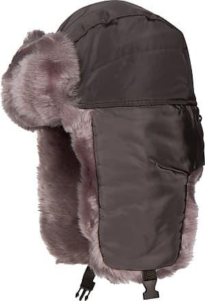 008516343e855 Sakkas 1769 - Martin Adjustable Casual Aviator Ushanka Trapper Hat Faux Fur  Lined - Charcoal -