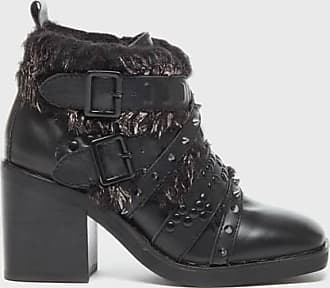 Kelsi Dagger Wallace Boots Black Embellished WomenS Biker Boot 7.5