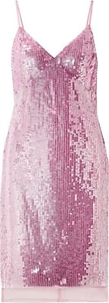 Markus Lupfer Marlane Sequined Tulle Dress - Pastel pink