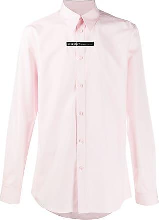 Givenchy Camisa com listra e logo - Rosa