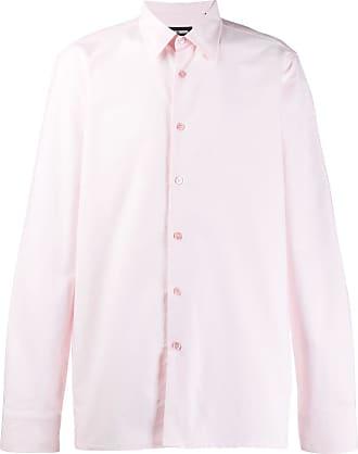 Raf Simons Camisa com bordado - Rosa