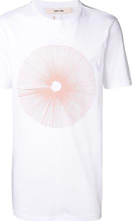 Damir Doma Camiseta longa com estampa - Branco