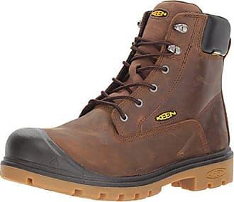 Keen Keen Utility Mens Baltimore 6 Waterproof Steel Toe Industrial Boot, Brown, 8 D US