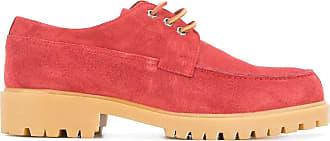 Cerruti ridged sole boat shoes - PINK