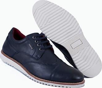 Hype Sapato Casual Masculino Oxford Hype Em Sintético 1004 (37, Azul Marinho)