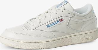 Reebok Herren Sneaker aus Leder - Club C 85 weiss