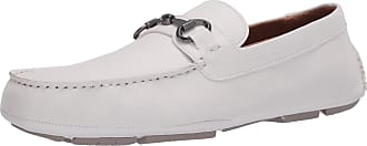 Kenneth Cole Reaction Dawson Bit Driver Driving Style Loafer, White, 10.5 M