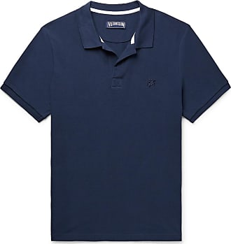 Vilebrequin Cotton-piqué Polo Shirt - Navy