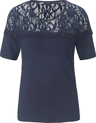 Uta Raasch Round neck top short sleeves Uta Raasch blue