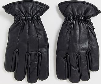 Bellfield leather gloves in black