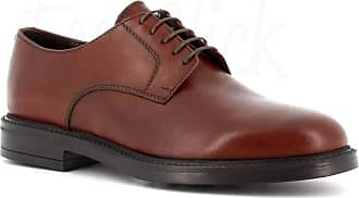 Generico Made in Italy Leather Shoes Rubber Sole - Brown Brown Size: 10.5 UK