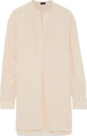 Joseph Joseph Woman Silk Crepe De Chine Tunic Beige Size 40