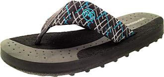 Urban Beach Lora Dora Mens Flop Flop Sandals Grey 8
