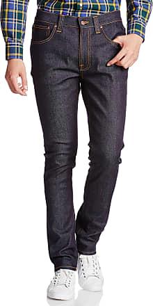 Nudie Jeans Mens Thin Finn Dry Indigo Dips