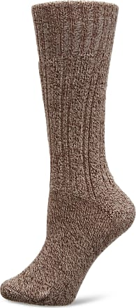 Hj Hall Mens Classic Boot Socks, Beige, Size 4 to 7