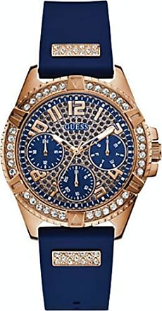 Guess Relógio guess feminino 92710LPGSRU5 multifunção azul