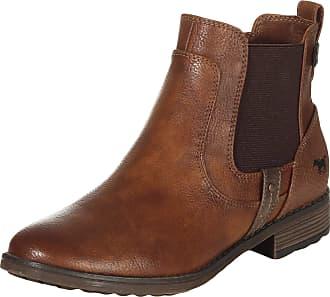 Mustang Womens 1265-501 Chelsea Boot, 307 Cognac, 9.5 UK