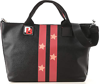 Pinko Tote Bag On Sale, Black, polyester, 2017, one size