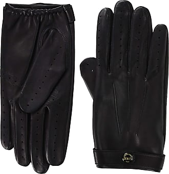 Dents James Bond Spectre Perforated Leather Driving Gloves Small Black