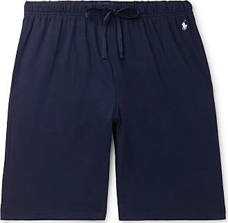 Polo Ralph Lauren Slim-fit Cotton-jersey Pyjama Shorts - Navy