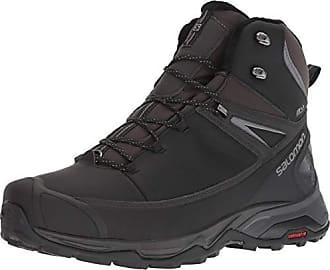 Salomon Mens X Ultra Mid Winter CS Waterproof Hiking Boot, Black/Phantom/Quiet Shade, 8 D US