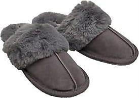 Onfire faux fur lined mule slippers