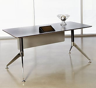 Unique Furniture 300 Collection 63 in. Computer Desk - Espresso - 301-ESP