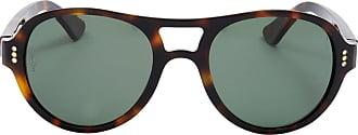 Cartier Óculos de Sol Aviador Tartaruga - Mulher - Único FR