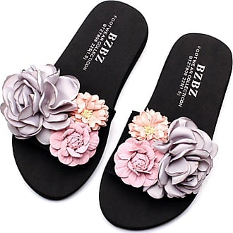 dddb4cc3483209 Flip Flop LVZAIXI Shoes Waichuan Thick Bottom Sandals Female Summer  Handmade Slippers Fashion Flat Slippers