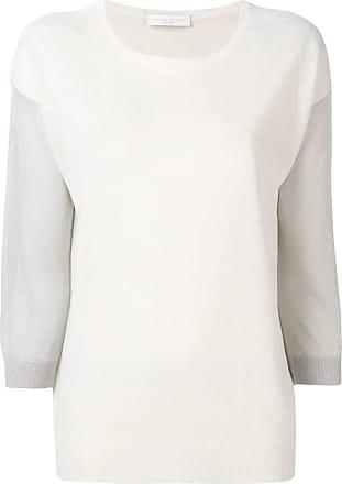 Fabiana Filippi contrast sleeve jumper - Neutrals