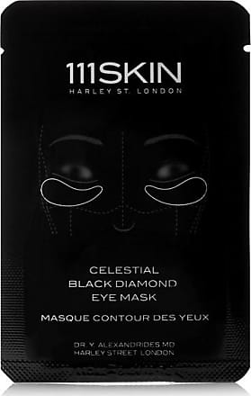 111Skin Celestial Black Diamond Eye Mask X 8 - Colorless