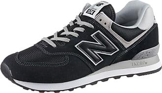New Balance ML574 Sneaker Herren in black, Größe 42 1/2