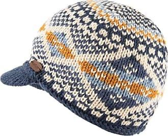 KuSan 100% Wool Brooklyn Peaked Cap PK1901 (Blue)