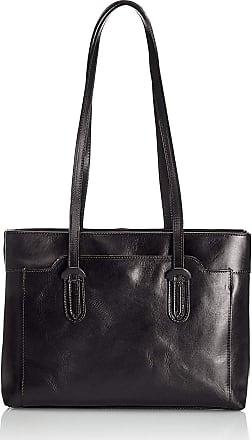 Chicca Borse Handbag leather womans shoulder 42 x 20 x 12 cm - mod. Tatiana