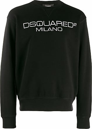 Dsquared2 Felpa in jersey nero