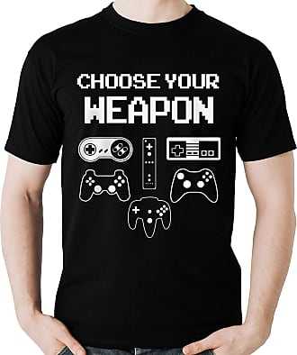 Dragon Store Camiseta Choose Your Weapon Controle Gamer Game Camisa Blusa