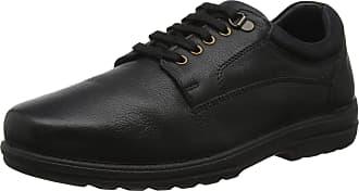 Padders Mens Declan Oxfords, Black (Black Combi 38), 8.5 (41.5 EU)