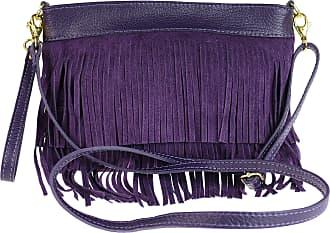 Girly HandBags Womens Gina Cross-Body Bag Purple