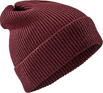 Fawler Berretto Kane stile Kacey in lana merino rossa 77a3c45dd99d