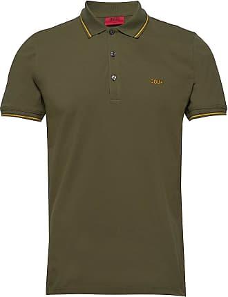 HUGO BOSS Dinoso202 Polos Short-sleeved Grön HUGO