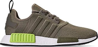 adidas Mens NMD Runner R1 Casual Shoes, Green