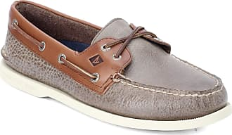 Sperry Top-Sider Mens A/O 2-Eye Cross Lace A/O 2-Eye Cross Lace Brown Size: 9.5 UK