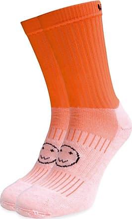 Wackysox Calf Length Sports Socks - Bright Orange