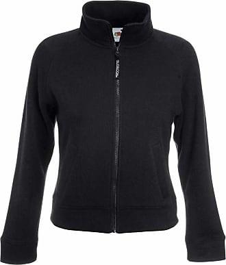 Fruit Of The Loom Lady Fit Full Zip Sweat Jacket Black,Navy,Grey,White