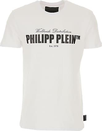 Philipp Plein T-Shirts für Herren, TShirts Günstig im Sale, Weiss, Baumwolle, 2019, L M XL