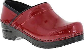 Sanita Patent Red in Patent Leather