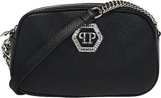 Philipp Plein Logo Shoulder Bag Womens Black